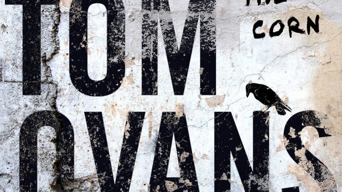"""Artwork for Tom Ovans album """"Crows in the Corn"""""""