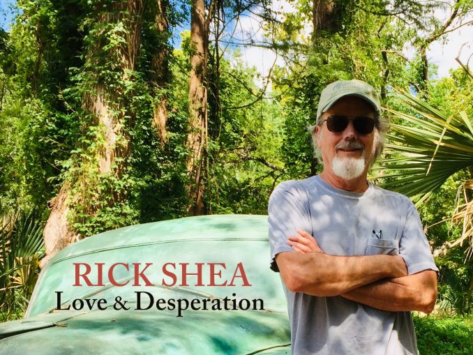 Cover for Rick Shea lp Love and Desperation
